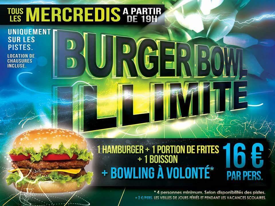 Burger Bowl Illimité